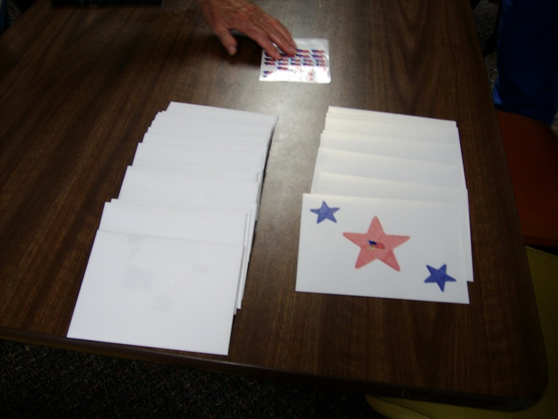 Making Cards for the Troops - 2009